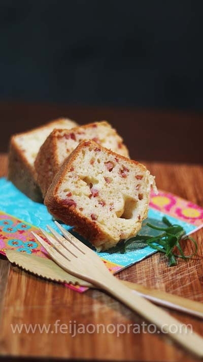 Bolo pão de queijo ou seria bolo salgado?!