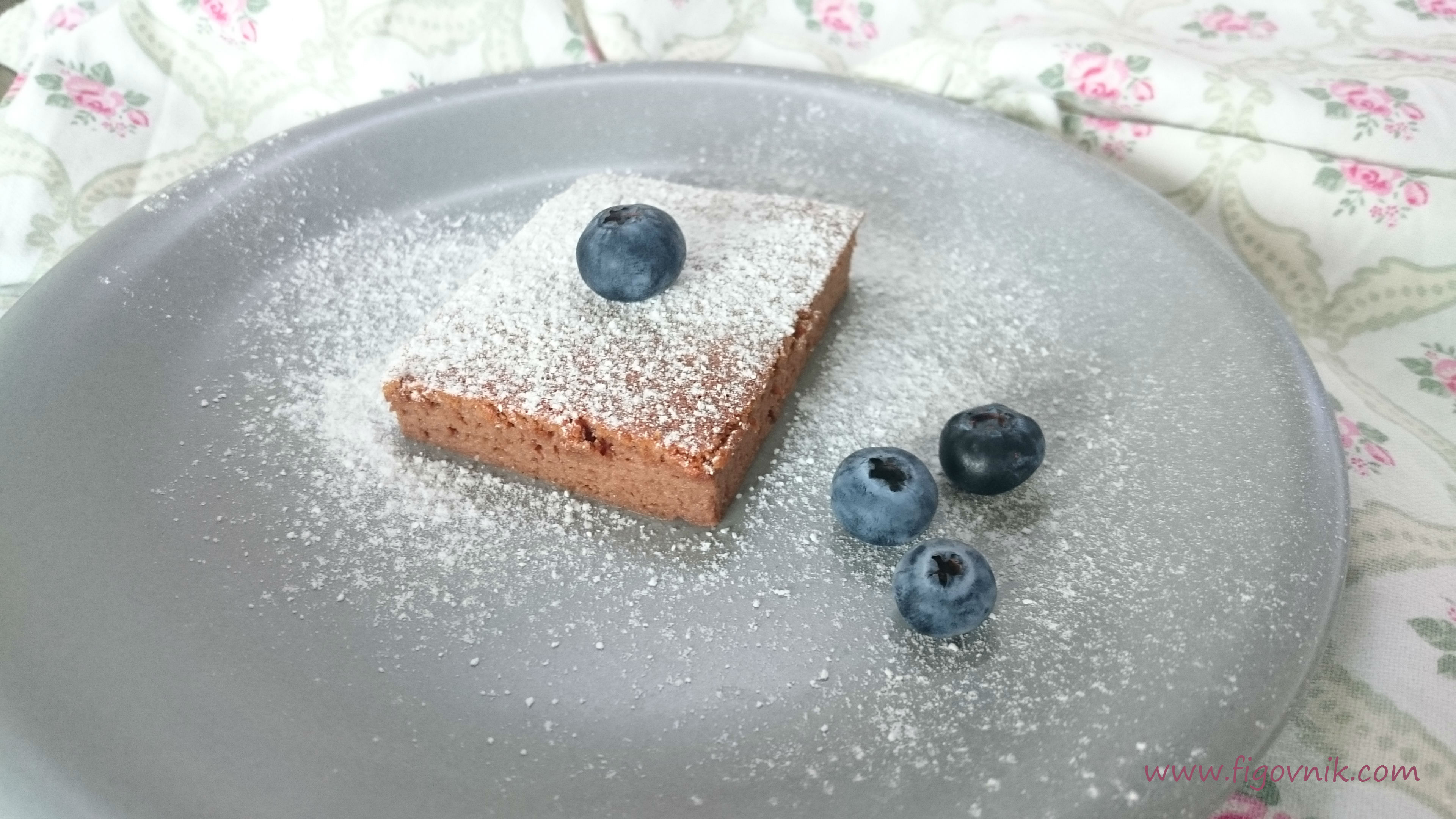 Soufflé cheesecake z 3 ingrediencií