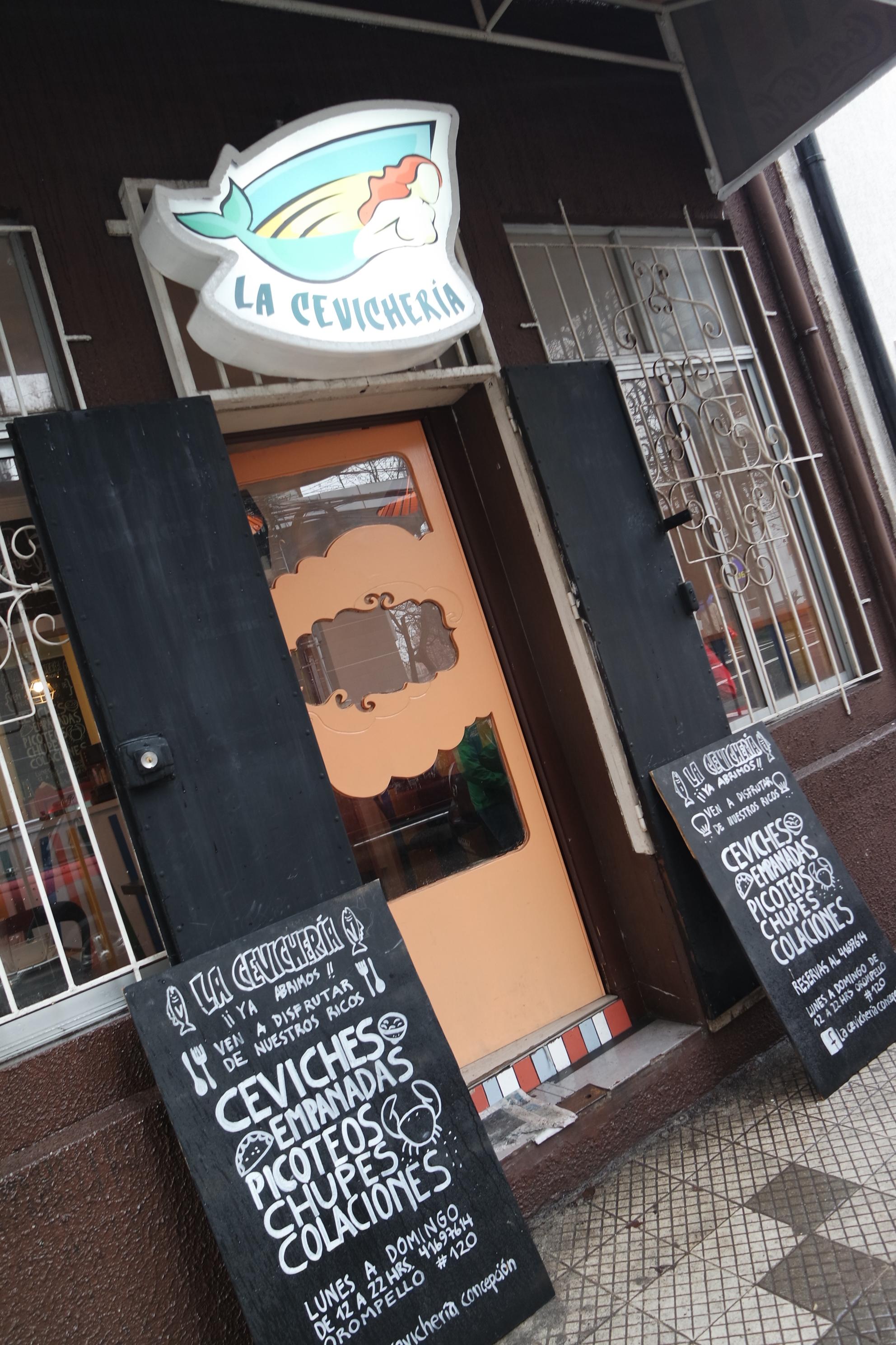 Lugares: La Cevichería [Concepción]