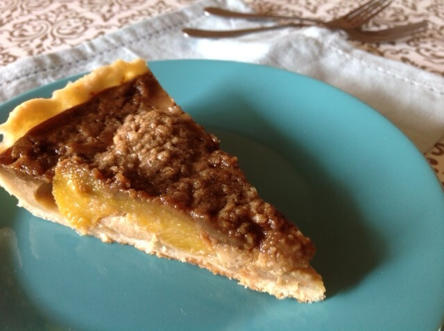 Torta de pêssego em calda – Especial de fim de ano