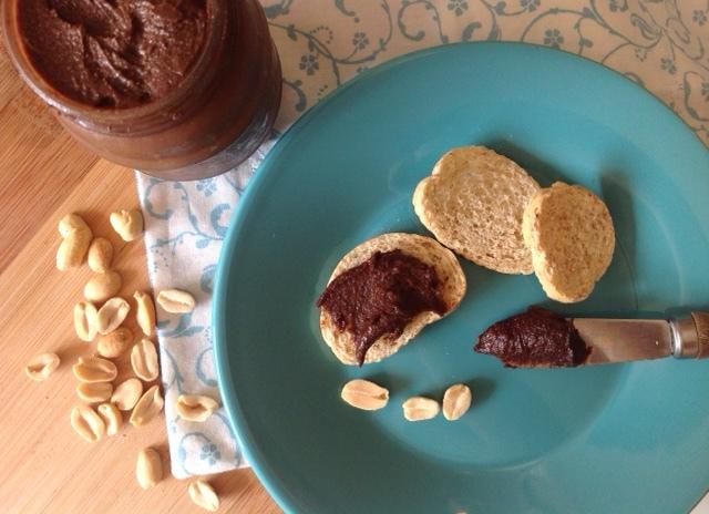 Nutella fit caseira