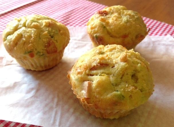 Muffin salgado de frios