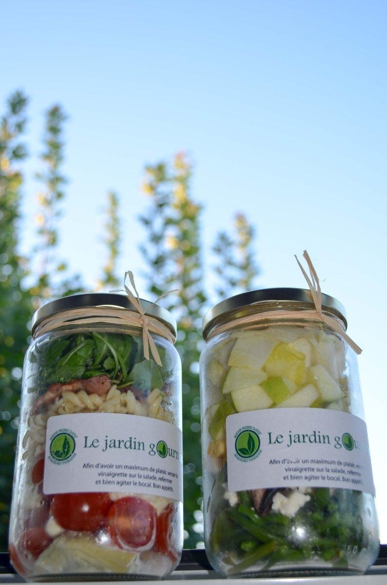 Yummy : les salades du Jardin Gourmand à Toulouse