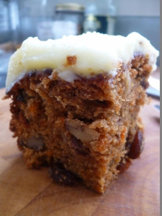 Carrot Cake with Lemon Mascarpone Icing…