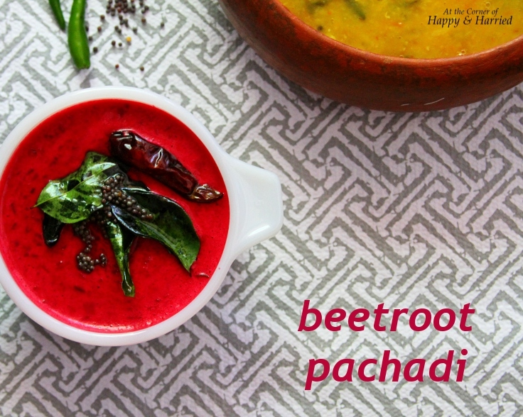 Beetroot Pachadi (Beetroot in A Mild Coconut And Yogurt Gravy)
