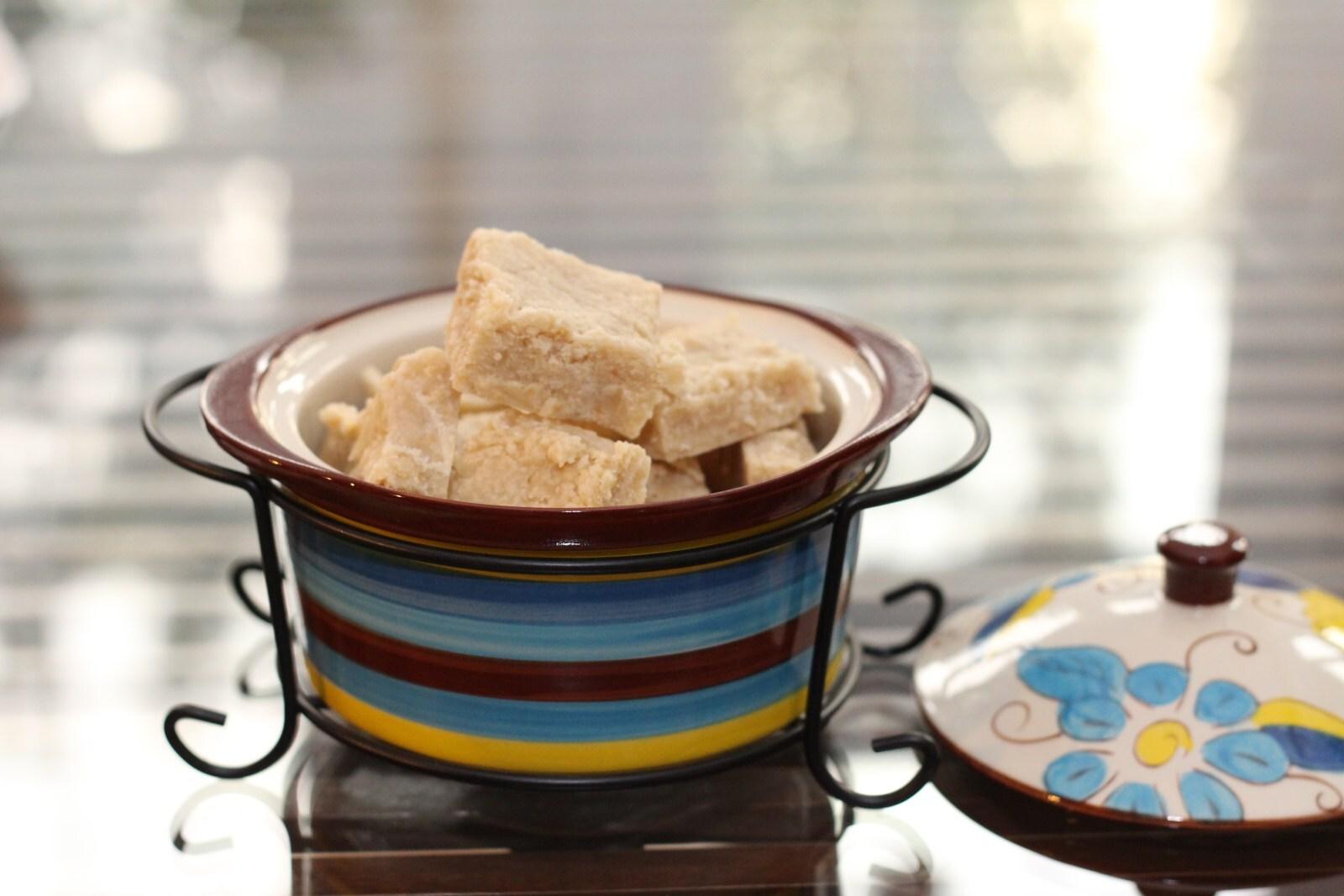 Fudgy Pudgy Joy – Cashewnut squares of Ambrosia ( Kaju Burfi)
