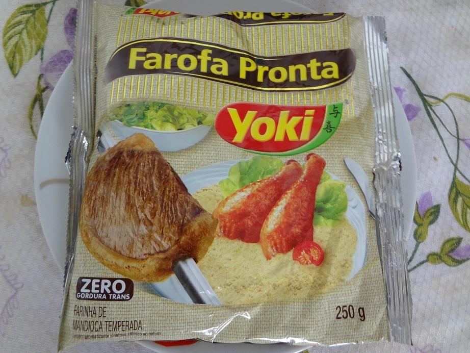 de farofa de farofa comprada pronta