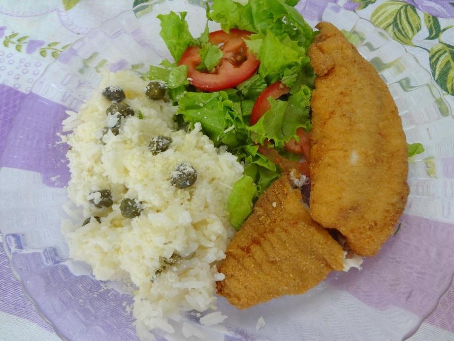 farinha temperada para empanar peixe