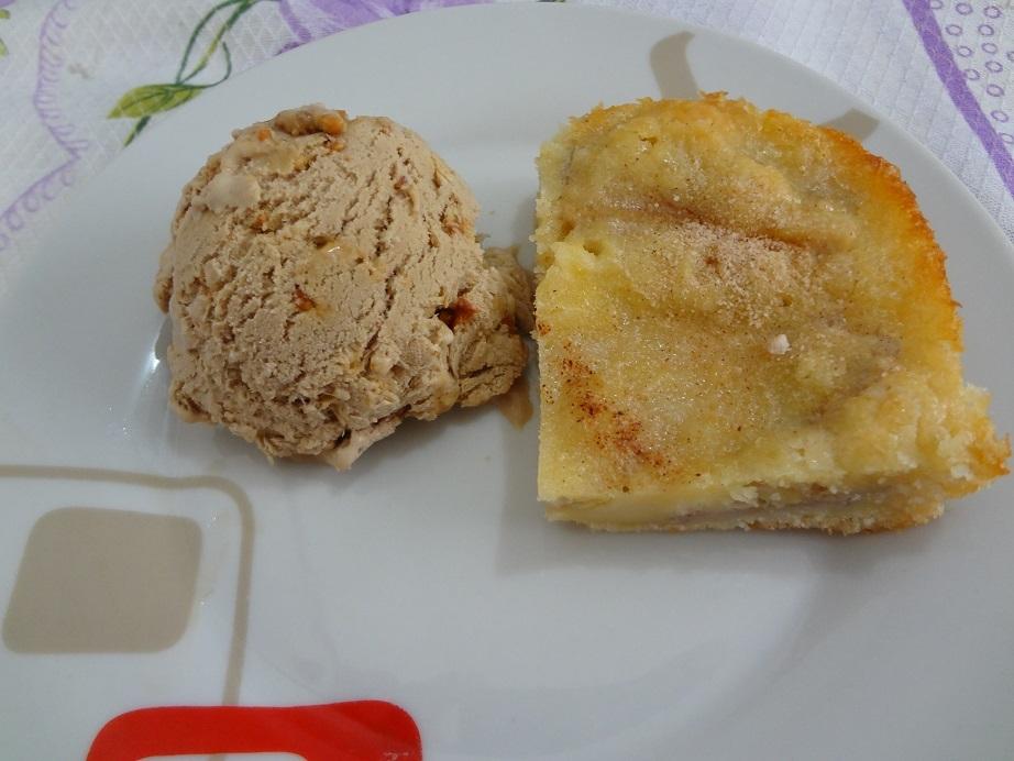 Torta de Banana com Canela