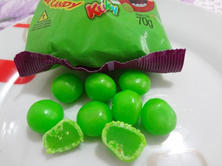 Bolix Bolinhas Azedinhas Sabor  Uva Verde – Kuky
