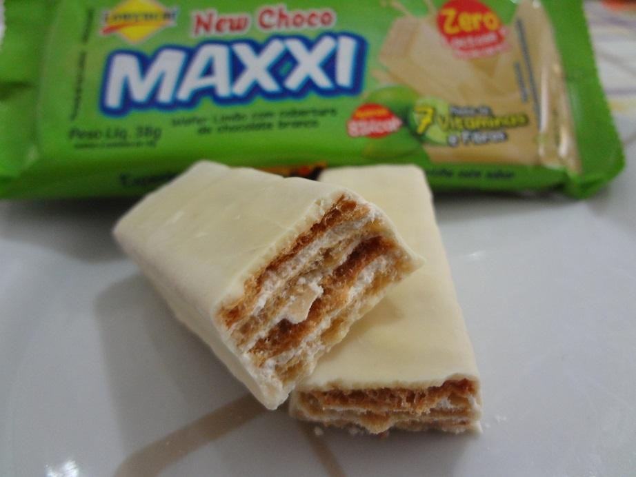 New Choco Maxxi Wafer Limão – Lowçucar
