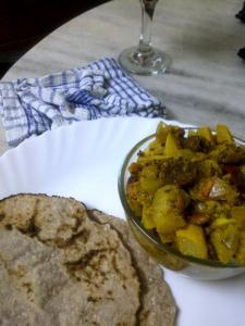 Tinda (Apple Gourd) & Yellow Courgette, The Indian Way