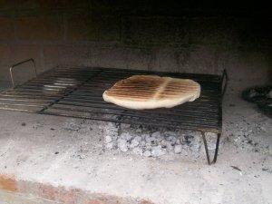 """Pizza a la parrilla """"party"""""""