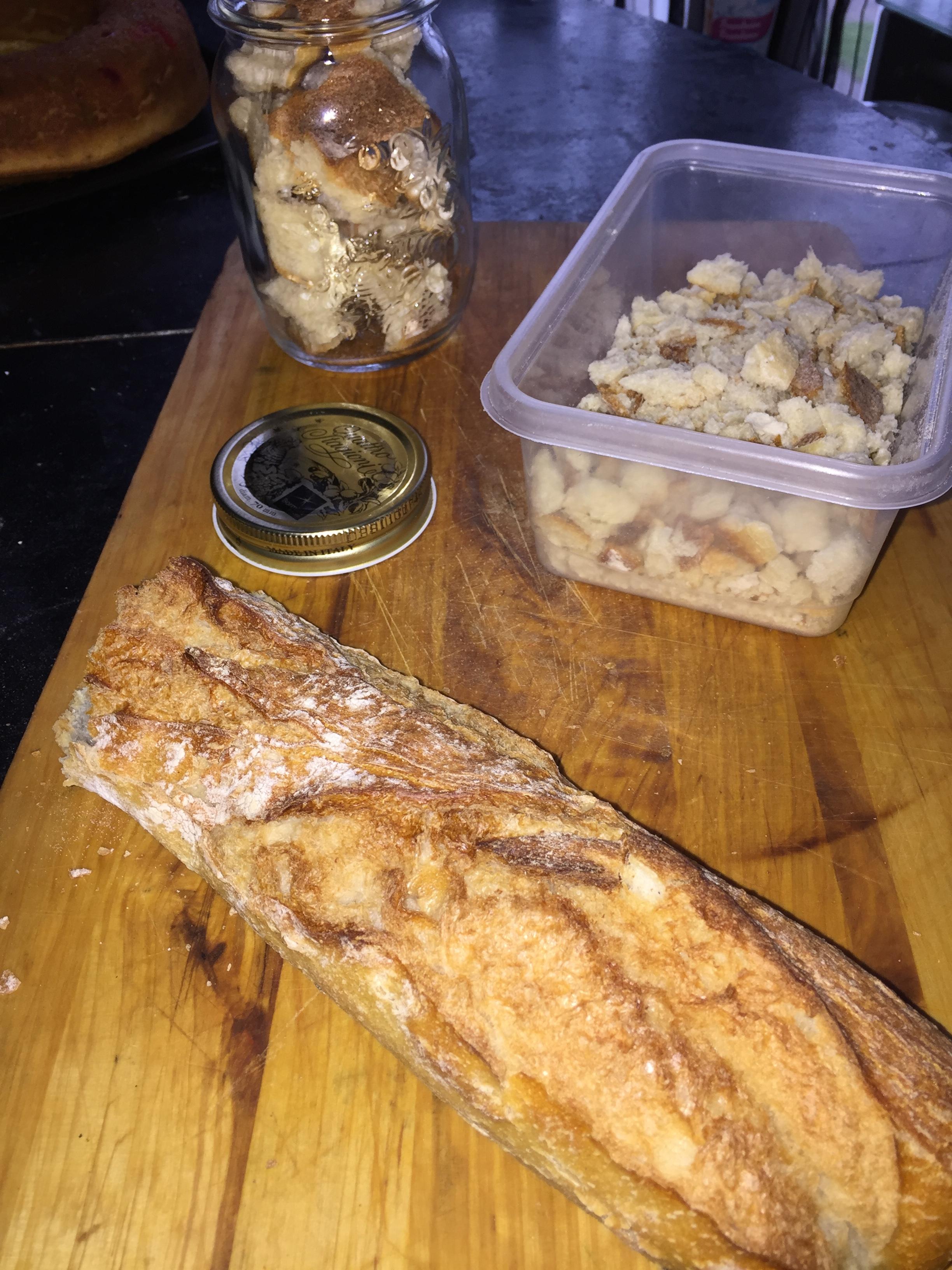 Que faire avec les restes de pain?
