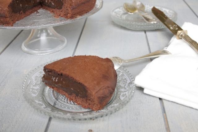 Gâteau basque au chocolat et piment d'espelette