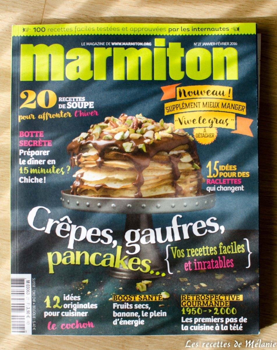 1 livre de cuisine, 3 recettes: Marmiton magazine