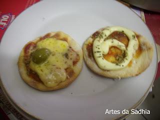 PIzza Feita em casa tipo de pizzaria