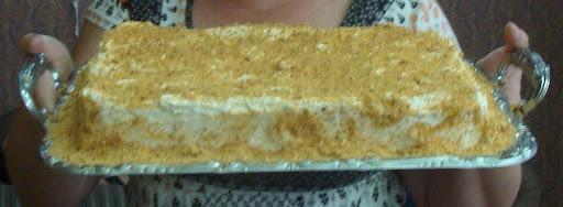 Torta de amendoim