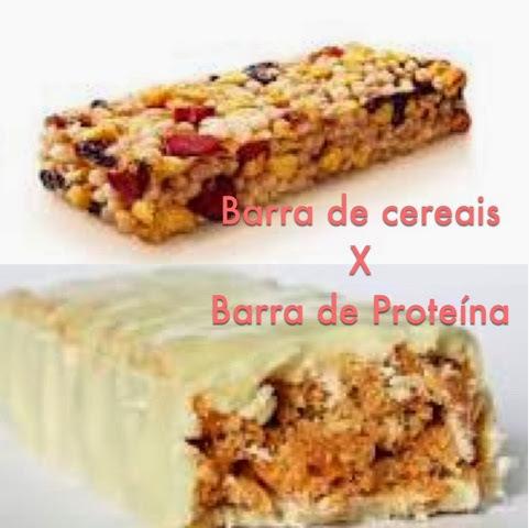 Barra de Cereais X Barra de Proteína: Qual melhor?