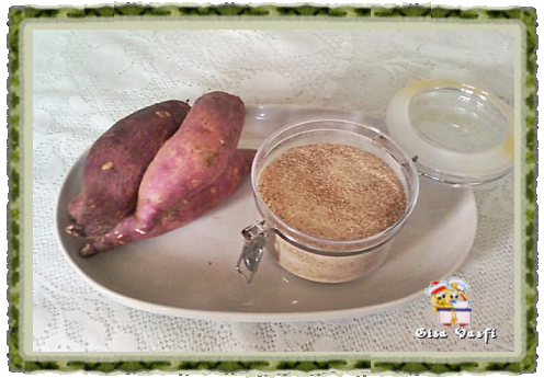 Mix de farinha de batata e polvilho