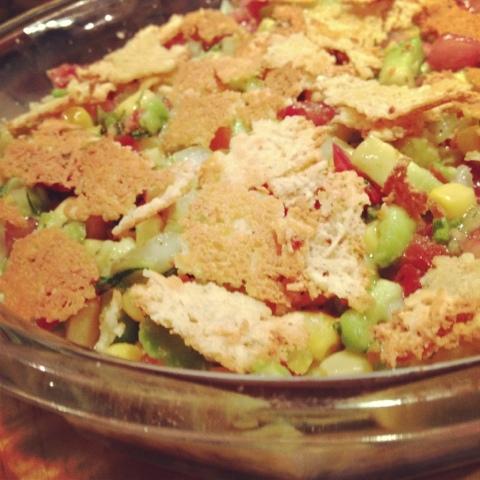 Cacerola de tacos 'low carb'
