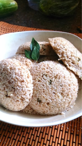 Broken wheat rava idli ... Healthy and nutritious