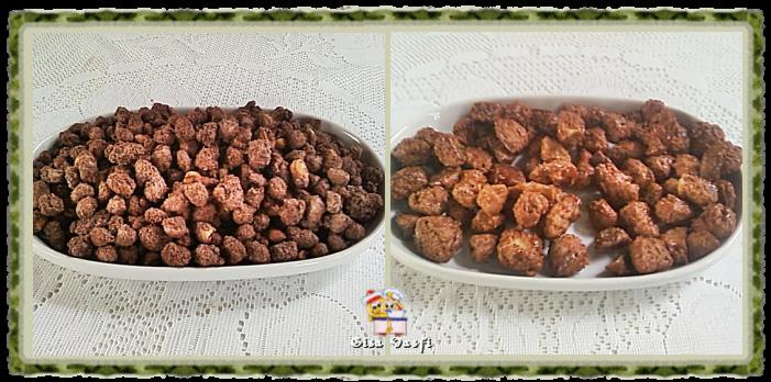 Amendoim e coquinho açucarados