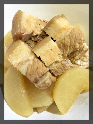 滷水白蘿蔔豬腩肉