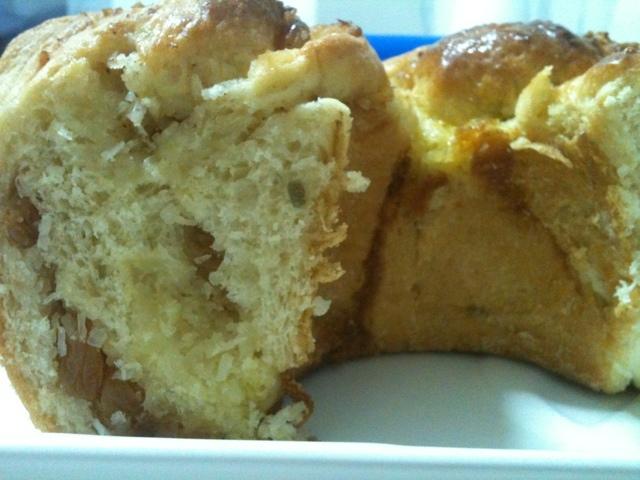 Rosca de Batata Doce com Coco