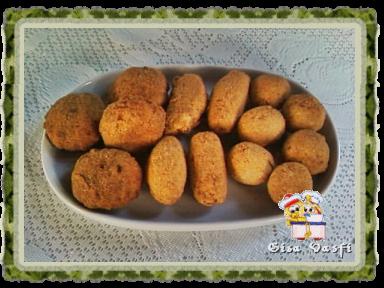 Nuggets de carne e de legumes