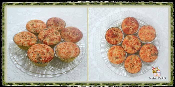Muffin de brócolis e cenoura