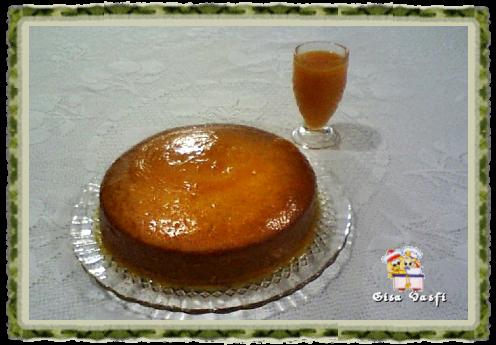 bolo de laranja com suco concentrado
