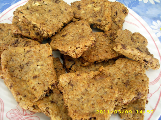 Cookies (ο Θεός να τα κάνει...) με 3 είδη σοκολάτας