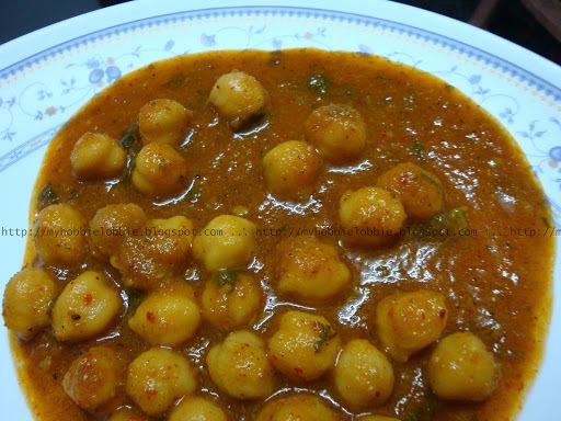 Chole (Garbanzo beans curry)