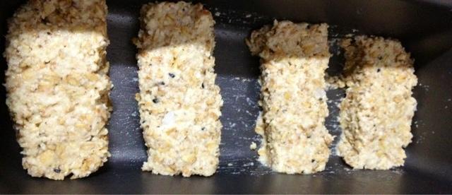 Receita: Barra Proteíca de granola com coco