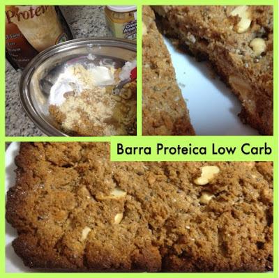 Receita: Barra / Barrinha de Proteína Low Carb