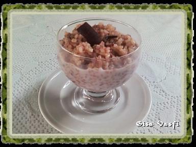 arroz integral com chia