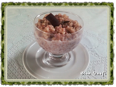 Arroz integral doce