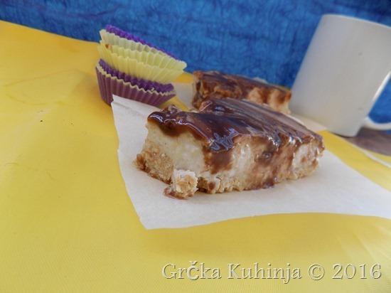 Osvežavajući kolač sa pavlakom, bananama , kondenzovanim mlijekom i skromnom glazurom