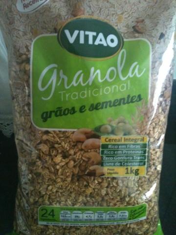 de granola caseira crocante