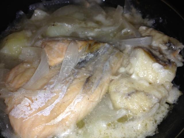 Cassoleta ràpida de peix