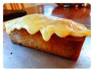 Feijoa and Coconut Loaf
