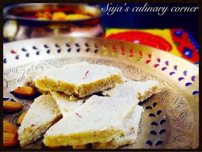 Badam Katli( Almond Fudge)