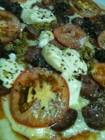 Pizza Caseira (Massa Grossa)