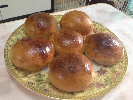 提子小麥包(麵包機搓粉)
