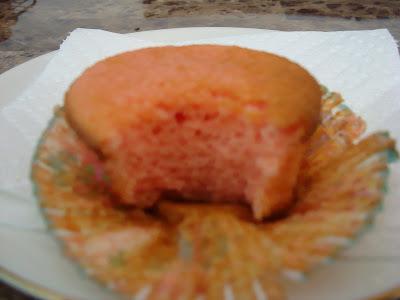 Cupcakes rosa e azul