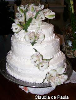 Receita basica de bolo de festa