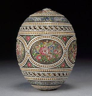 Ovos que são jóias