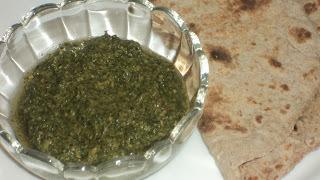 Mint/Pudina chutney