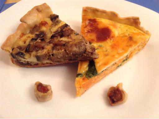 Tarta de Berenjena y Muzzarella